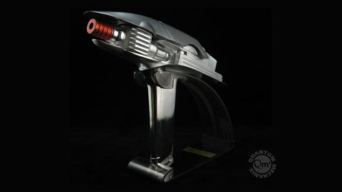 Photo of Enterprise Metal-Plated Phaser Replica