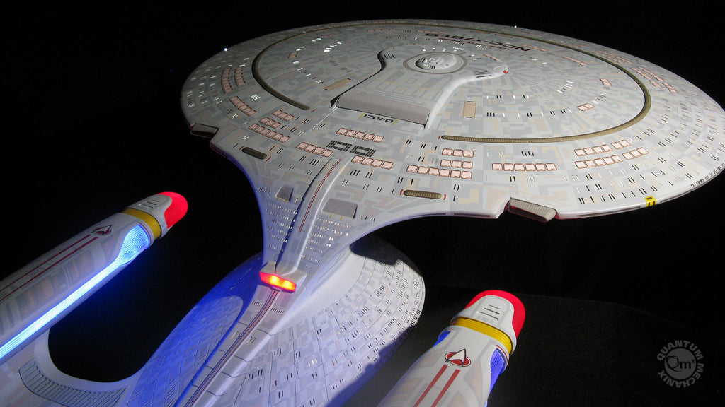 The Next Generation Enterprise D Artisan Replica
