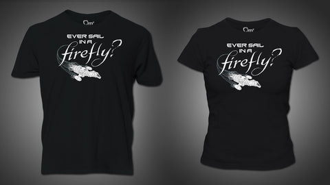 Photo of FFO: Ever Sail in a Firefly T-Shirt