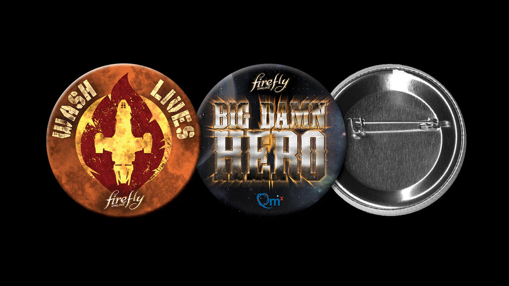 Firefly Online Wash Lives & Big Damn Hero Buttons