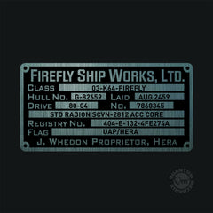 Thumbnail of Firefly Builder's Plaques Metalized Sticker Set
