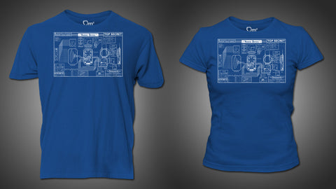 Photo of Farnsworth Blueprint T-Shirt