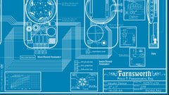 Thumbnail of Farnsworth Blueprint Replica