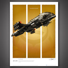 Thumbnail of EVE Online Battlecruisers Art Print Set - Series 1