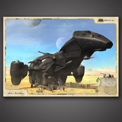 Photo of ISV Cerberus Desert Camp Poster