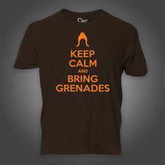 Photo of Keep Calm & Bring Grenades T-Shirt