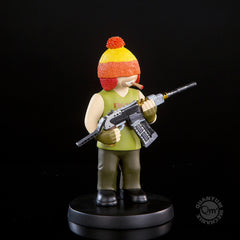 Thumbnail of Jayne — Little Damn Heroes Animated Maquette #3