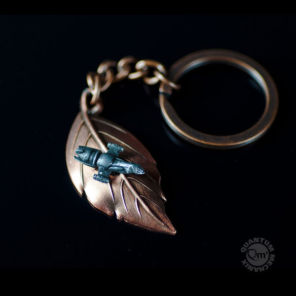 Leaf on the Wind Key Chain-Pendant