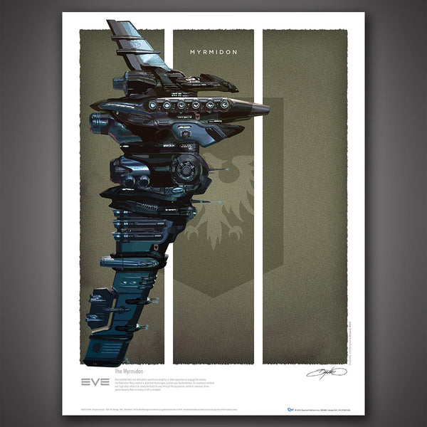 EVE Online Battlecruisers Art Print Set - Series 1