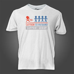 Photo of Saffron Ex-Husbands Support Group T-Shirt