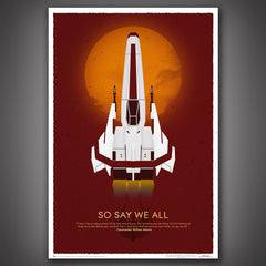 Thumbnail of Battlestar Galactica 10th Anniversary Art Print