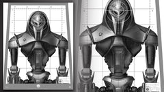 Thumbnail of Cylon Centurion Target Poster Replica