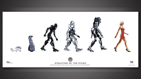 Photo of Evolution of the Cylon Poster