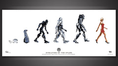 Thumbnail of Evolution of the Cylon Poster