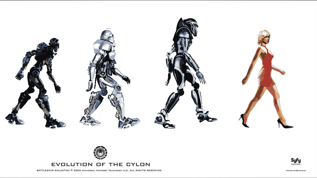 Evolution of the Cylon Poster