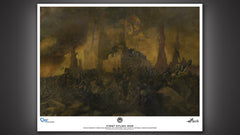 Thumbnail of Battlestar Galactica First Cylon War Painting Art Print