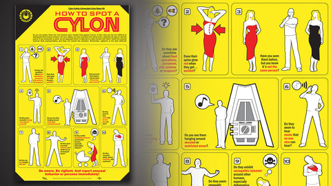 Photo of How To Spot a Cylon Poster