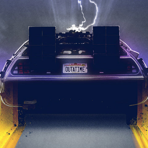 Photo of Back to the Future Great Scott Art Print