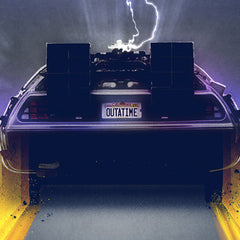 Thumbnail of Back to the Future Great Scott Art Print
