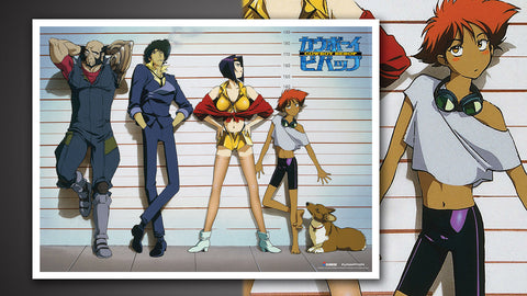Photo of Cowboy Bebop Crew Lineup Art Print