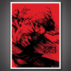 Photo of Cowboy Bebop Red Spike Art Print