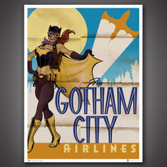 Photo of DC Bombshells Batgirl Art Print