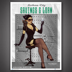 Photo of DC Bombshells Catwoman Art Print