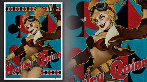 Photo of DC Bombshells Harley Quinn Art Print