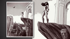 Thumbnail of Wonder Woman: Princess of Themyscira Art Print