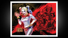 Thumbnail of Suicide Squad Harley's Heroes Art Print