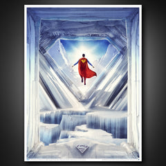 Photo of Superman: Fortress of Solitude Art Print