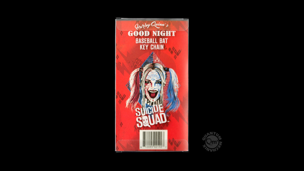 Harley Quinn's Good Night Baseball Bat Key Chain