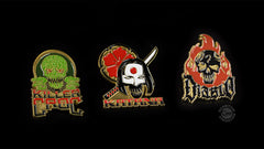 Thumbnail of Suicide Squad Lapel Pins — Set 2