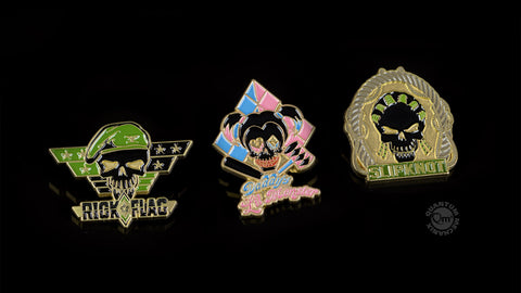 Photo of Suicide Squad Lapel Pins — Set 3
