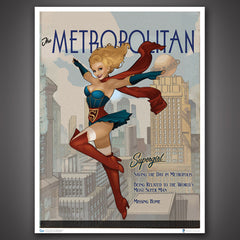 Thumbnail of DC Bombshells Supergirl Art Print