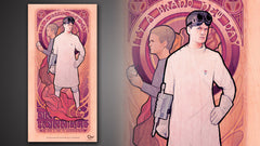 Thumbnail of Dr. Horrible Art Nouveau Poster Set