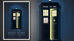 Thumbnail of Doctor Who 50th Anniversary Art Print