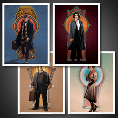 Thumbnail of Fantastic Beasts and Where to Find Them Art Print — Set 3