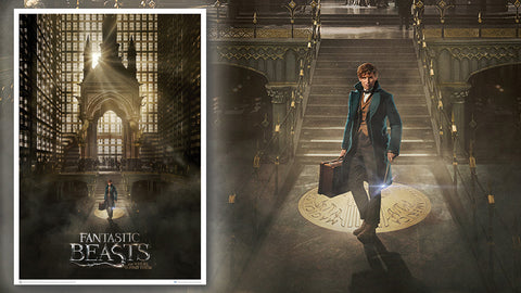 Photo of Fantastic Beasts: Magical Congress Art Print