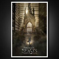 Thumbnail of Fantastic Beasts: Magical Congress Art Print