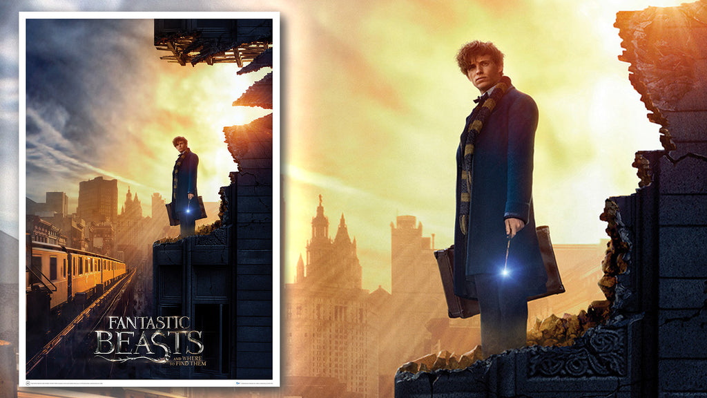 Fantastic Beasts: Amid the Rubble Art Print
