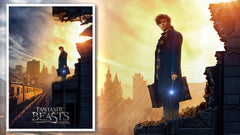 Thumbnail of Fantastic Beasts: Amid the Rubble Art Print