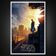 Photo of Fantastic Beasts: Amid the Rubble Art Print