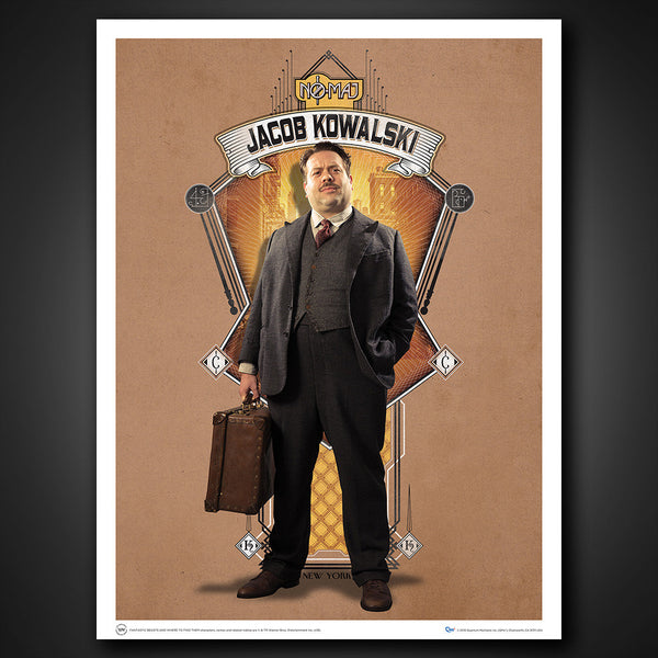 Fantastic Beasts and Where to Find Them Art Print — Set 3