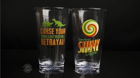 Photo of Firefly Pint Glasses — Set 2