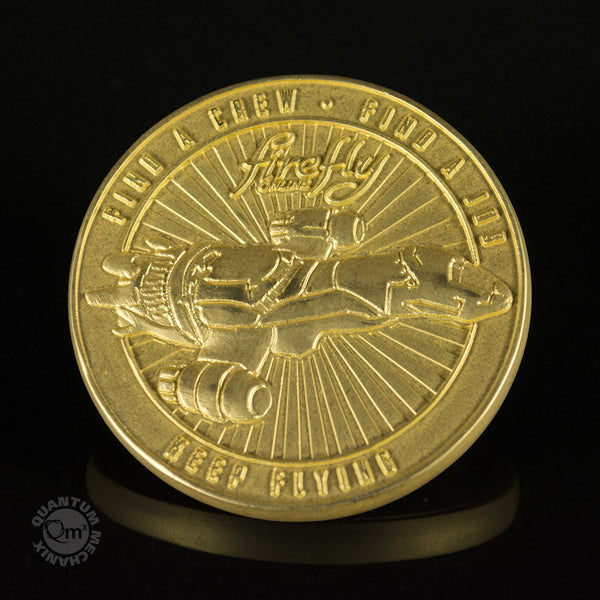 1 OZ FIREFLY LIMITED EDITION SDCC SAN DIEGO COMIC CON CHALLENGE COIN