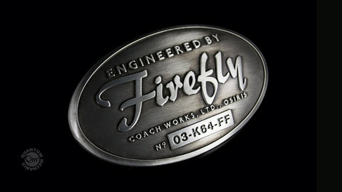 Photo of Engineered by Firefly Belt Buckle