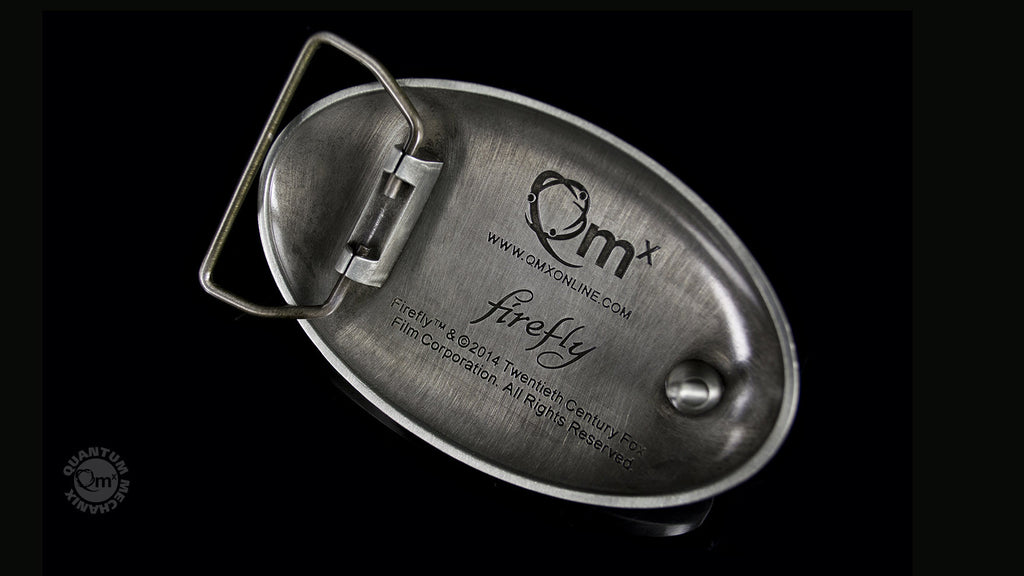 Engineered by Firefly Belt Buckle