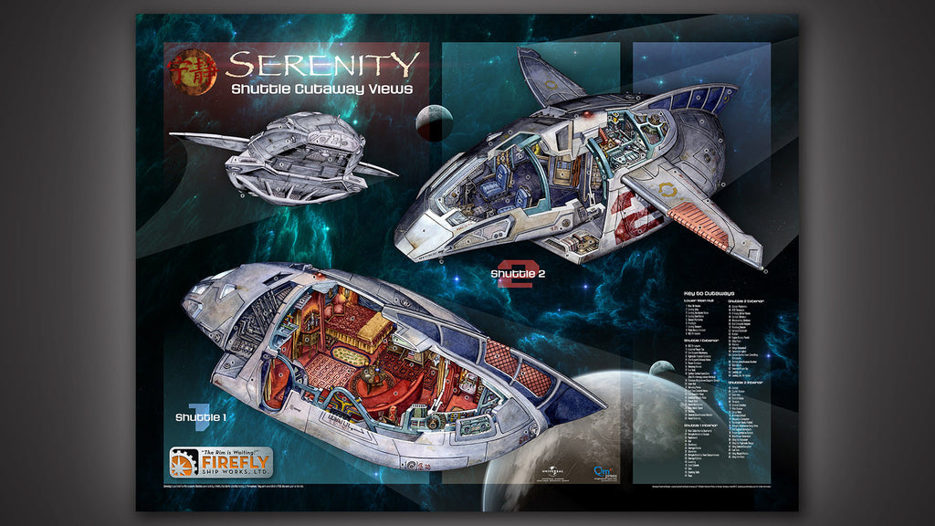 Serenity Architectural Cutaway Set