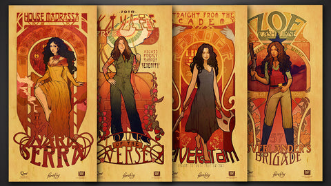 Photo of Firefly Les Femmes Poster Set